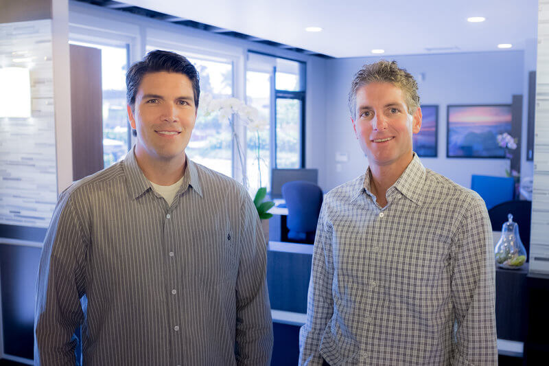 Dr. Quesnell and Dr Stout. of Mission Hills Endodontics